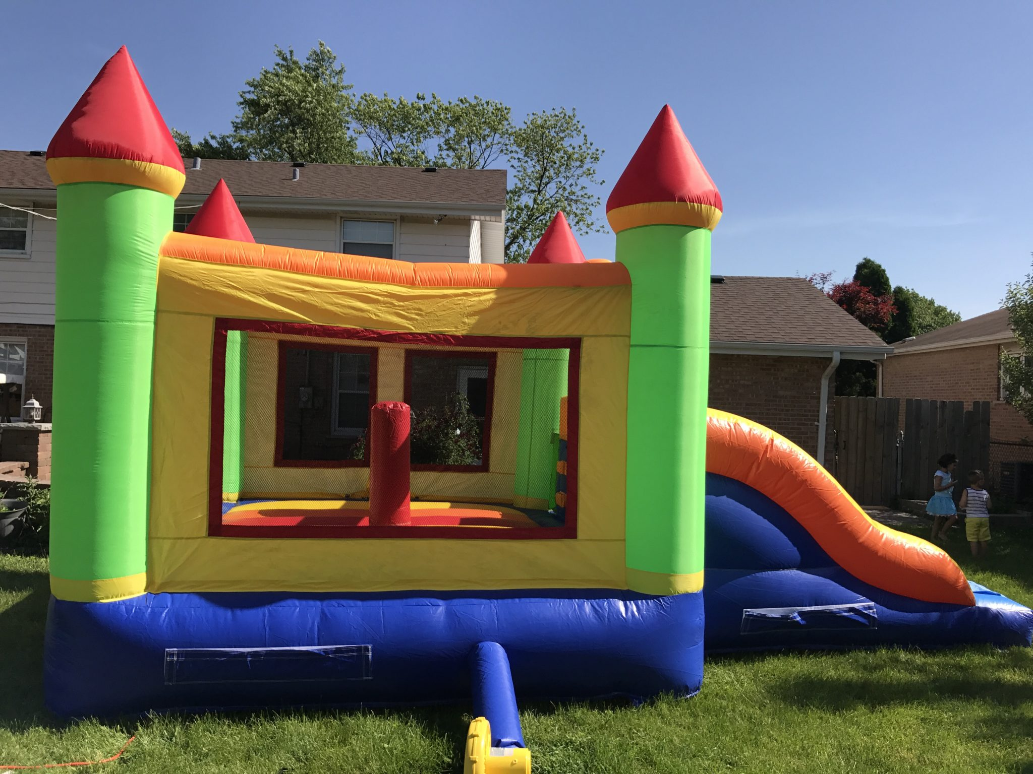 Double Slide 3 in 1 x Bounce my House Bouncy House